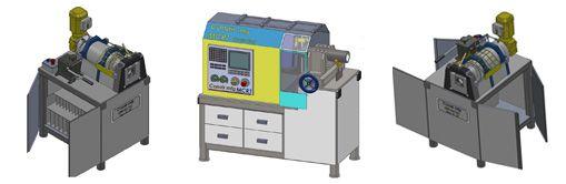 Maquina para processar tubos