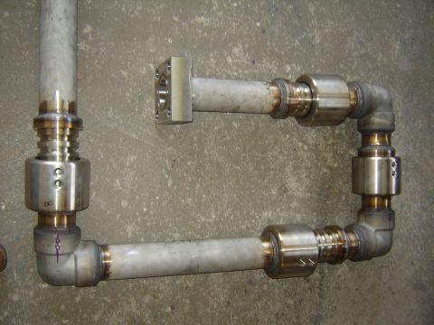 Braço hidraulico basculamento forno Siderurgico