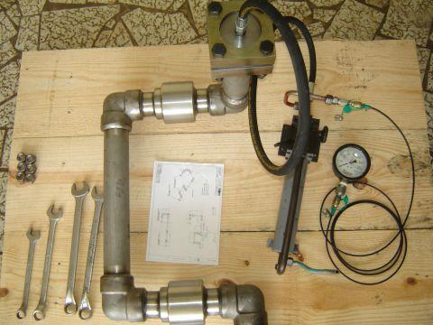 Braço hidraulico Usiminas basculamento forno