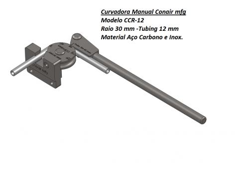 Curvadora manual 12mm