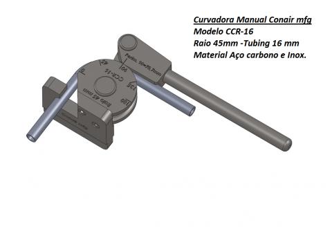 Curvadora manual 16mm