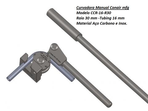 Curvadora manual 16-Raio 30