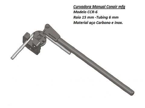 Curvadora manual 6mm