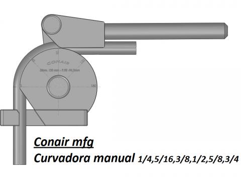 Curvadora Manual CCR-20
