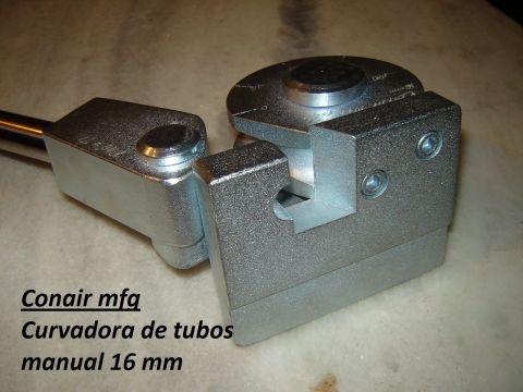 Curvadora manual de tubos 6,8,10,12,16