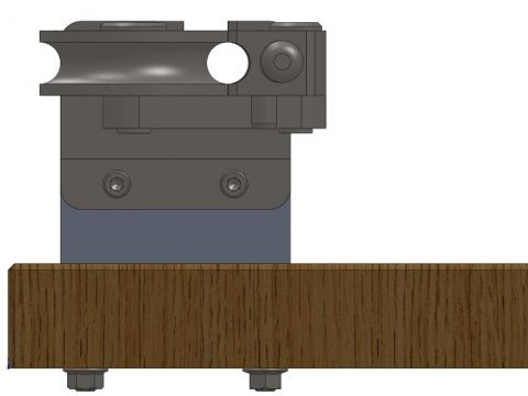 Curvadora manual suporte de bancada