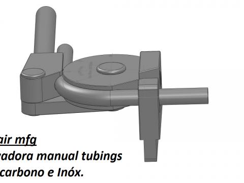 Curvadoras de tubos Manual  CCR-20