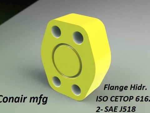 Flange ISO 6162