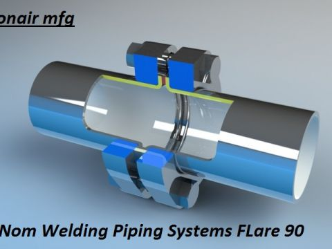 Non Welding Piping Systems Flare 90 Isometrico