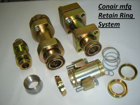 Non Welding Piping systems retain ring