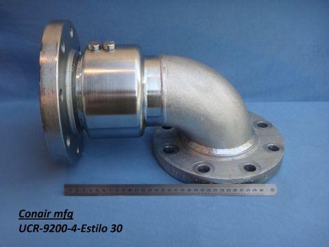 União rotativa braço carregamento diesel. Estilo 30