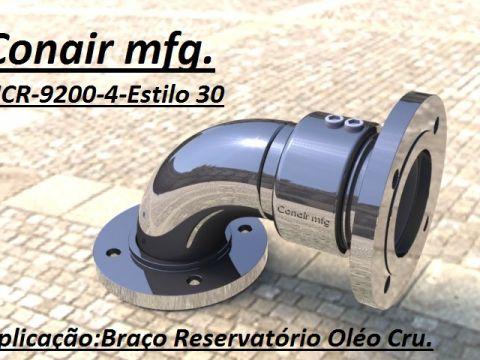 União rotativa Estilo 30 braço de Oleo cru