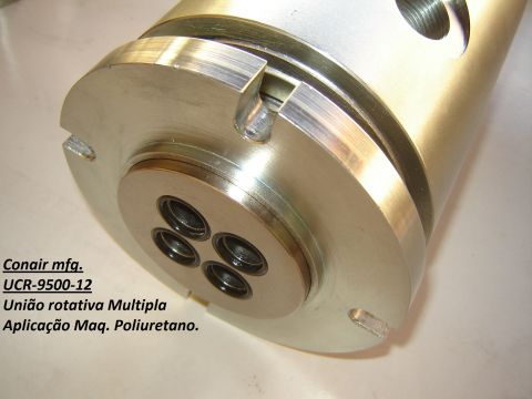 União rotativa maquina de poliuretano