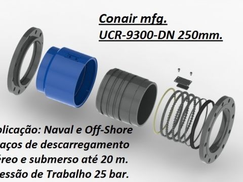 União rotativa Naval e Mineração