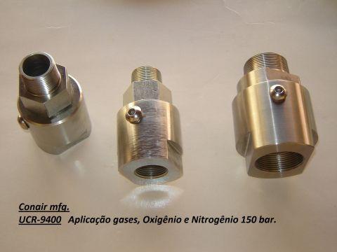 União rotativa Oxigênio e Nitrogênio