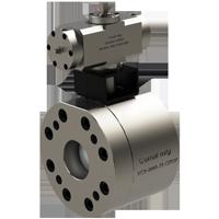 Válvula de Esfera com acionamento com atuador rotativo hidráulico