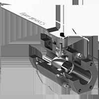 Válvula Hidráulica de Esfera para Conexão com Flanges Normativos