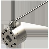 Válvula Hidráulica de Esfera Reduzida para Conexão de Furos conforme Flanges Normativos